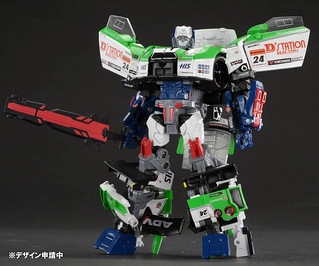 TAKARA TOMY – 變形金剛GT:GT-04 / 福特巨人 Maximus