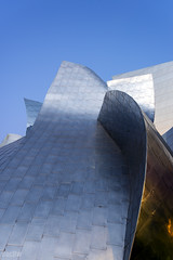 Frank Gehry- Walt Disney Concert Hall (docjfw) Tags: ca nightphotography sunset architecture losangeles dusk frankgehry waltdisneyconcerthall d800 nikkor1735 nikkor1755mm