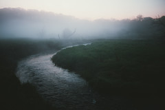 Misty Stream [explored] (.monodrift) Tags: