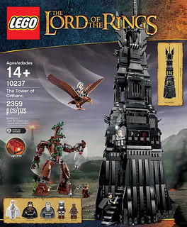 LEGO 魔戒 The Tower of Orthanc 歐薩克塔