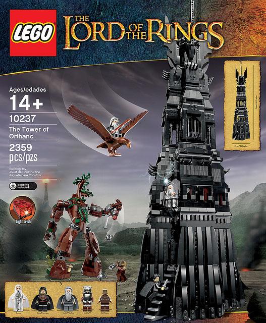 LEGO 魔戒 The Tower of Orthanc 歐薩克塔