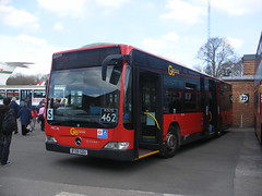 London General, MEC046 [BT09GOU] - Brooklands Museum, Weybridge (21/04/13) (David's NWTransport) Tags: mercedes londongeneral goahead citaro mercedescitaro mercedesbenzmercedes mercedesbenzcitaro bt09gou