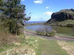 Dunsapie Crag 3 (tumpshy) Tags: grass scotland edinburgh pigeons pinetrees firthofforth gorse holyroodpark eastlothian dunsapieloch northberwicklaw dunsapiecrag tumpshy