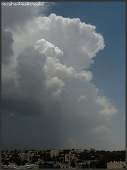 - cumulonimbus (moshek70) Tags: sky weather clouds israel jerusalem   cumulonimbus