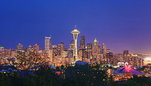 the space needle skyline
