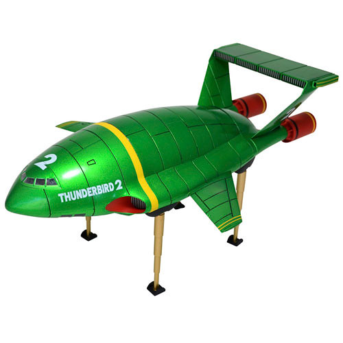 海洋堂 REVOLTECH Thunderbird 2 雷鳥神機隊 2號機(電鍍配色版)