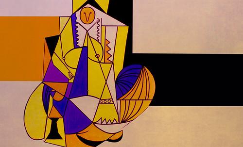 """Odaliscas (Mujeres de Argel) yuxtaposición y deconstrucción de Pablo Picasso (1955), síntesis de Roy Lichtenstein (1963). • <a style=""""font-size:0.8em;"""" href=""""http://www.flickr.com/photos/30735181@N00/8748003496/"""" target=""""_blank"""">View on Flickr</a>"""