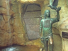 Native American statue (princeace2007) Tags: indian nativeamerican streamzoo