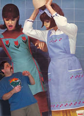 42 in - Big Gals (iggy62pop2) Tags: woman sexy female funny upskirt milf giantess heightcomparison shrinkingman minigiantess