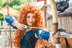 Merida (EverythingDisney) Tags: princess disneyland disney merida bow pixar brave arrow dlr princessmerida