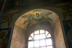 Window in Cathedral of the Nativity, Suzdal (inchiki tour) Tags: travel church architecture angel photo europe cathedral russia decoration orthodox  suzdal kremlin worldheritage 2014  goldenring