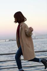 2014-11-14 Portrait in Park Autumn (kuma_photography) Tags: portrait woman girl fashion japan port japanese