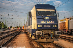 761 004 (Takcs Lszl Photography) Tags: cargo hercules 004 761 ferencvros metrans railcargohungarya