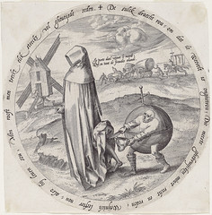The man who is robbed becomes a Misanthrop (petrus.agricola) Tags: washingtondc twelve proverbs flemish dutch after pieter bruegel elder etching probably hieronymus wierix jeronymus