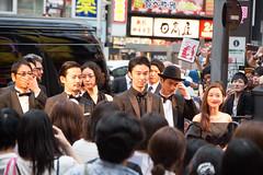 Godzilla Resurgence World Premiere Red Carpet: Hasegawa Hiroki, Takenouchi Yutaka, Ishihara Satomi, Kora Kengo, Matsuo Satoru, Ichikawa Mikako, Osugi Ren, Tsukamoto Shinya, Anno Hideaki, Higuchi Shinji & Onoue Katsuro