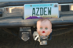 Baby Head - 5114 (AZDew) Tags: camping forest truck hitch protector babyhead