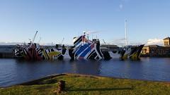 Dazzle Ship - Leith Dock (jambox998) Tags: edinburgh forth