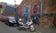 Photo of Street art Sheffield..