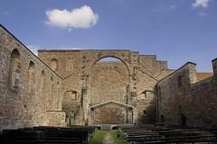 Kloster Vera - Vessra Abbey (Regina_Hoer) Tags: ruin church abbey kloster thringen thuringia vessra kirchenruine photography reginahoer sigma sd10 romanisch romanic
