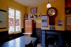 In the station. (Elsie esq.) Tags: ra dieselelectriclocomotive fawley museum railway steam ilway