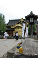 Travels of badger - Ueno Tsh-g Shrine (enigmabadger) Tags: brickarms lego custom minifig minifigure fig accessory accessories japan asia vacation trip travel outdoors japanese