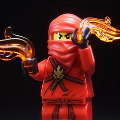 Character of a Ninja - Kai Portrait (rioforce) Tags: rioforce lego brickfilm ninja ninjago brickfilming legoninjago character kai jay zane cole lloyd nya wu lighting behindthescenes tutorial