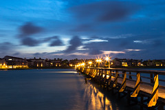 Night Dock (Dylan Childs) Tags: coast beach ocean sea rockport texas canon 5d dock pier gulf