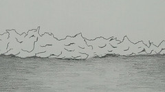 20130327 WoutvanMullem Waves on the beach 09 (Wout van Mullem) Tags: wave waves beach sea animation still pencil wout van mullem