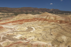 IMG_1876 - John Day Fossil Beds Painted Hills (Kent68) Tags: oregon johndayfossilbedspaintedhills paintedhills johndayfossilbeds johndayfossilbedsnationalmonument johndaypaintedhills