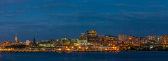 Ottawa City Panoramic View (Asif A. Ali) Tags: panorama downtown canada ontario canon asifalicom asifaali ottawa capital buildings skyscrapper skyline night evening sunset eos40d sigma1770mm