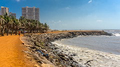 Mumbai, India (DitchTheMap) Tags: 2016 architecture india maharashtra malabarhill nature asia beach beautiful blue bombay buildings business capital city cityscape drive financial flickr modern mumbai ocean panorama people san sea silhouette sky skyline summer tourism travel water in