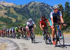 Tour of Utah Stage 6 Start (DennyMont) Tags: bikeracing snowbasin stage6 tourofutah