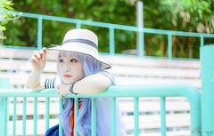 vyy 14 (Nhp xinh trai siu cp !) Tags: cute kawaii seifuku smile outdoor sunlight naturalday natural clearcolor clearly blue cosplay anime festival manga china japan taiwan vietnam park