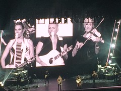 Dixie Chicks concert I attended  with middle son Kurt. (tjacobs61) Tags: dixiechicks band music fiddle banjo