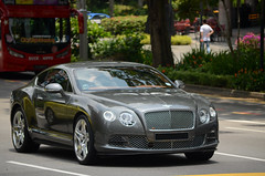 Bentley Continental GT (nighteye) Tags: bentley continental gt singapore car