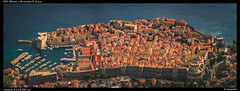 Dubrovnik - Oldcity (Falcdragon) Tags: sonyrx100mk128100mmf1849 croatia oldtown dubrovnik unesco worldheritagesite city cityscape panorama water sea adriatic fortress fortifications walledcity port harbour