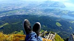 The Summit of Mount Pilatus, Switzerland. Elevation: 2,128 m (6,982 ft) #Alpnachstad #Switzerland #SwissAlps