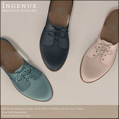 Ingenue :: Marlene Oxfords (Betty Doyle) Tags: thearcade secondlife slink ingenue belleza maitreya