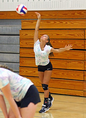 IMG_7250 (SJH Foto) Tags: girls volleyball high school scrimmage northstar boswell pa pennsylvania action shot
