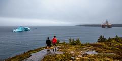 This is Newfoundland (Brian P Carey) Tags: baybulls briancarey maersk newfoundland stjohns iceberg landscape oilrig photographer photography