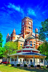 Bryan Ohio ~ Williams County Courthouse ~ Historic Building (Onasill ~ Bill Badzo) Tags: byran ohio williamscounty oh courthouse historic nrhp building victorian style architecture countyseat onasill landmark