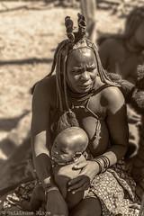 Femme Himba (Darth Jipsu) Tags: people gens awesome sepia black white noir et blanc himba namibie namibia namibien namibian