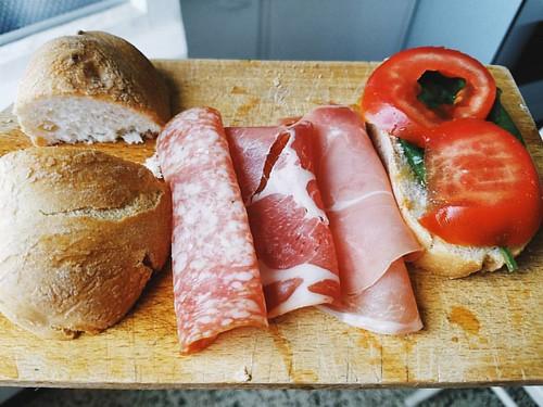Buongiorno tutti. .   . #breakfast #eeeeeats #eatwell #foodporn #foodphotography #levanto #iglaspezia #igerslaspezia #igersitalia #ig_italy #cinqueterre #italy #mediterraneo #italianbreakfast