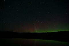 n lights (Wil James) Tags: elements son a6000 northernlights ontario north night stars shootingstar pillars