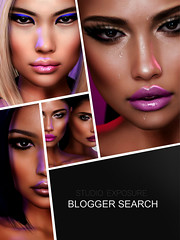 STUDIO EXPOSURE BLOGGER SEARCH  (http://www.itdollz.com) Tags: studio exposure makeup blogger selection application