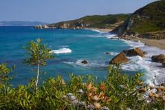 Contrast (simonturkas) Tags: greece travel adventure amazing beautiful wow wanderlust europe interesting water waves beach sun sunny