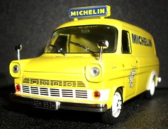Altaya Ford Transit MK1 van Michelin Tyres 1/43rd scale. (Ledlon89) Tags: ford michelin fordtransit scalemodels diecastcars scaleddown transitvan diecastmodels altaya britishvans