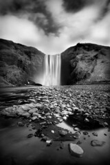 Skogar (Paddy McDougall) Tags: bw iceland long exposure 10 stop nd skogar canon7d