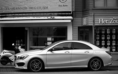 Mercedes-Benz CLA. (Tom Daem) Tags: bridgestone knokke mercedesbenz cla c117