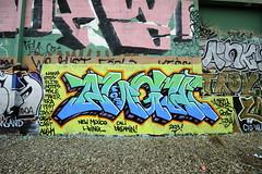 AUGHT (STILSAYN) Tags: california eos graffiti oakland bay area 2013 aught